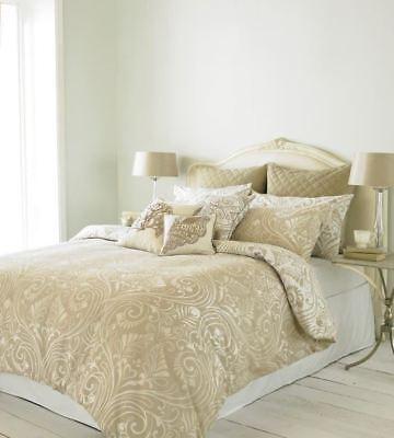 Möbel & Wohnen RüCksichtsvoll Damast Beige Umkehrbar Baumwollmischung Doppel 6 Stück Bettwäsche Set Ein GefüHl Der Leichtigkeit Und Energie Erzeugen