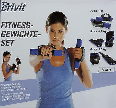 Fitness Gewichte Set Gewichtsmanschetten Laufgewichte Hanteln Fußgewichte NEU