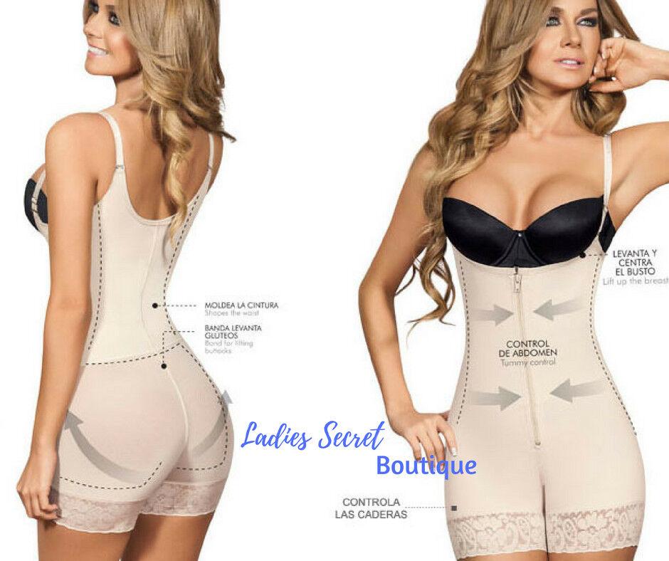 Faja Colombiana BodyShort Butt Lifter Confort Line Bodyshaper Levanta Cola New