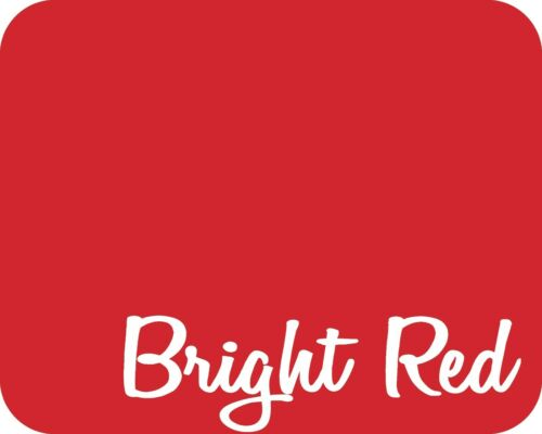 "Matte Bright Red 15/"" x 5 Yards Stahls/' Fashion-FILM Heat Transfer Vinyl HTV"
