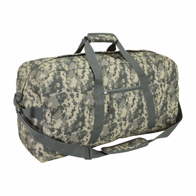 d887a26ee54b 21 Large Duffle Bag With Adjustable Strap (digital Camo)