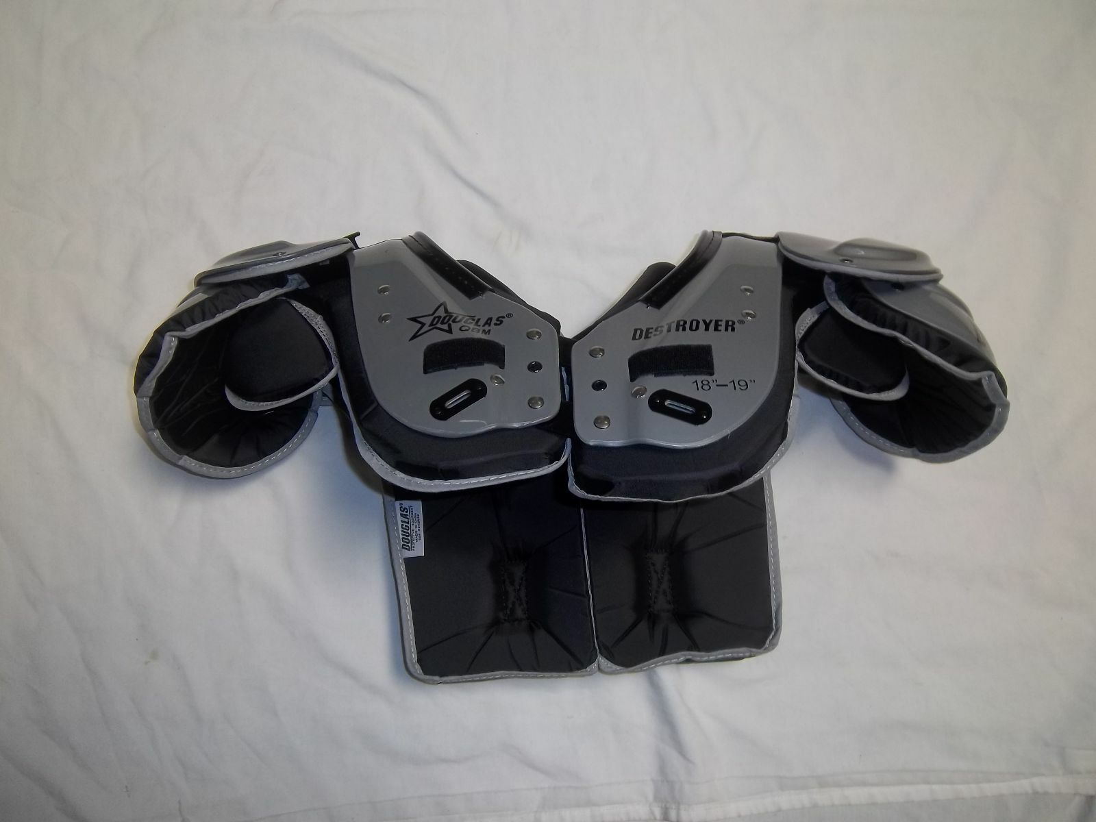 DOUGLAS DP QB  ADULT FOOTBALL SHOULDER PAD-VARIOUS SIZES