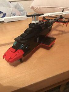 Details about custom built lego Redwolf (Airwolf 2)