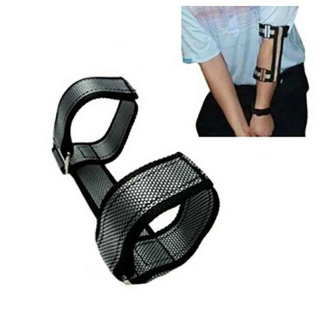 Golf Swing Training Aid Straight Left Arm Corrector Elbow Brace Strap  Support W