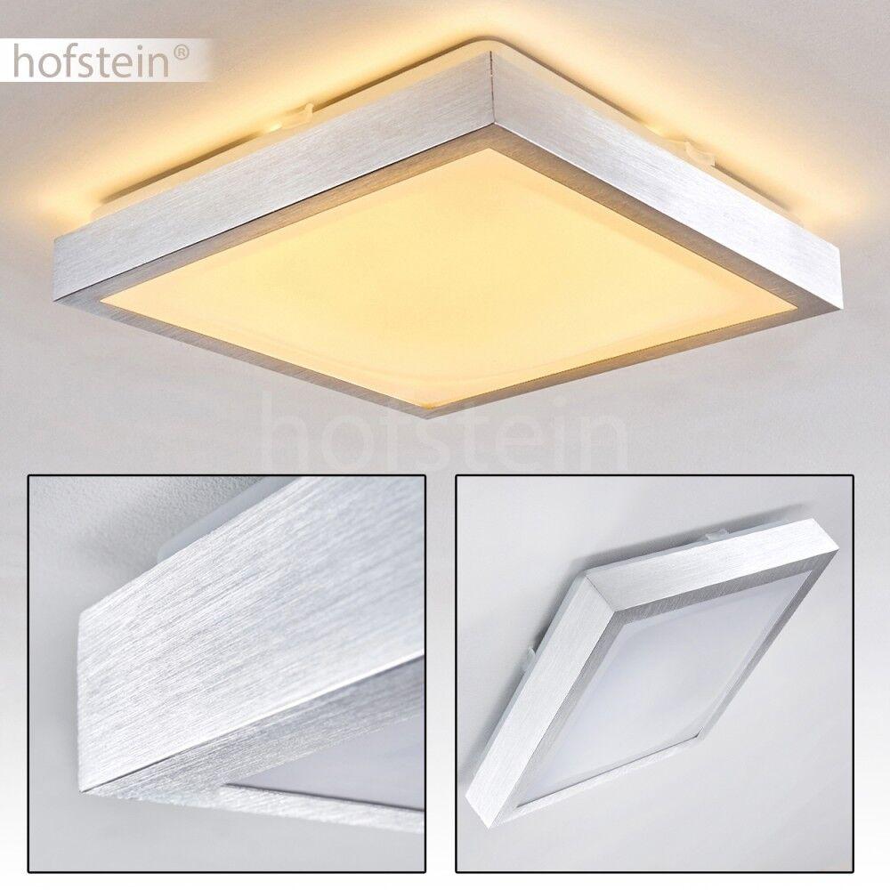 Plafonnier LED Lampe à suspension carrée Lampe Lustre de ...