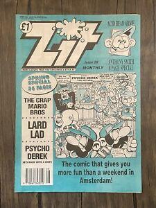 Zit Comic - 1990s  - Issue 28 - Ref C81 - Free Postage