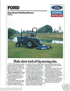Equipment-Brochure-Ford-930A-Rear-Mount-Finishing-Mower-1988-E2869