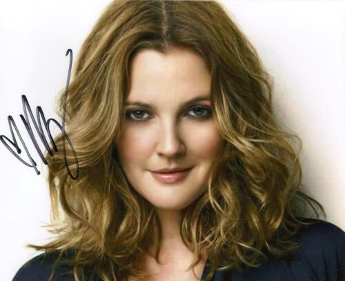 DREW BARRYMORE AUTOGRAPHED SIGNED A4 PP POSTER PHOTO PRINT 34