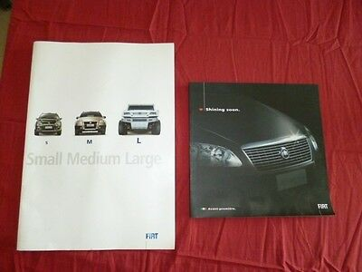 N° 2093 Bis / Fiat: 2 Trés Grand Catalogues 2005
