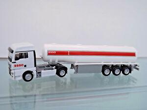 Herpa-309509-1-87-Man-Tgx-Xlx-Semirremolque-con-Tanque-de-Combustible-034-Esso