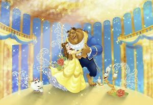 Beauty And The Beast Photo Wallpaper Wall Mural Disney Kids Room