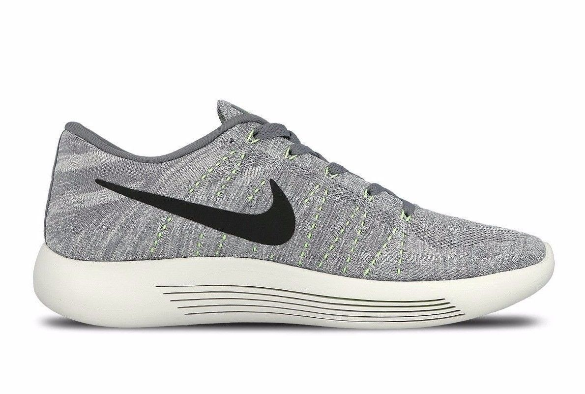 Nike lunarepic basso flyknit forte grey / / grey lupo nero grigio 843764 005 msrp 160 dollari!raro! 512c6a