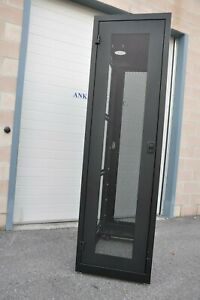 CableTalk 44U (84 inch height) RACK Cabinet Tower with Casters - no Side Panels
