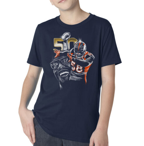 Youth Denver Broncos Von Miller Dab on /'Em Super Bowl Champion Navy Shirt