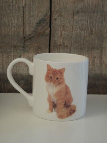 The Leonardo Collection England Kaffee Becher // Tasse Ginger Cat Katze