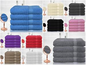 Casabella-Luxury-Pack-Of-4-Jumbo-Bath-Sheet-100-Egyptian-Cotton-Super-Soft