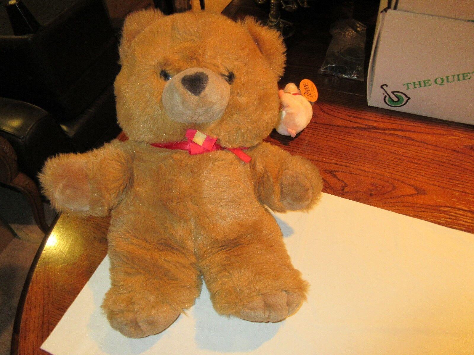 Stuffed Animal, Giant Stuffed Bear, FAO black, Fifth Avenue , Vintage