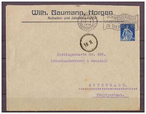 Schweiz-Privatganzsache-25-C-TSt-St-Gallen-WSt-Landesausstellung-Bern-1914