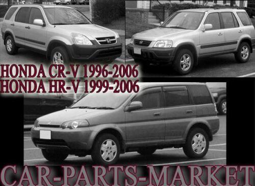 Plaque Gauche Côté Passager Aile Porte Miroir Verre Pour Honda HR-V 1999-06