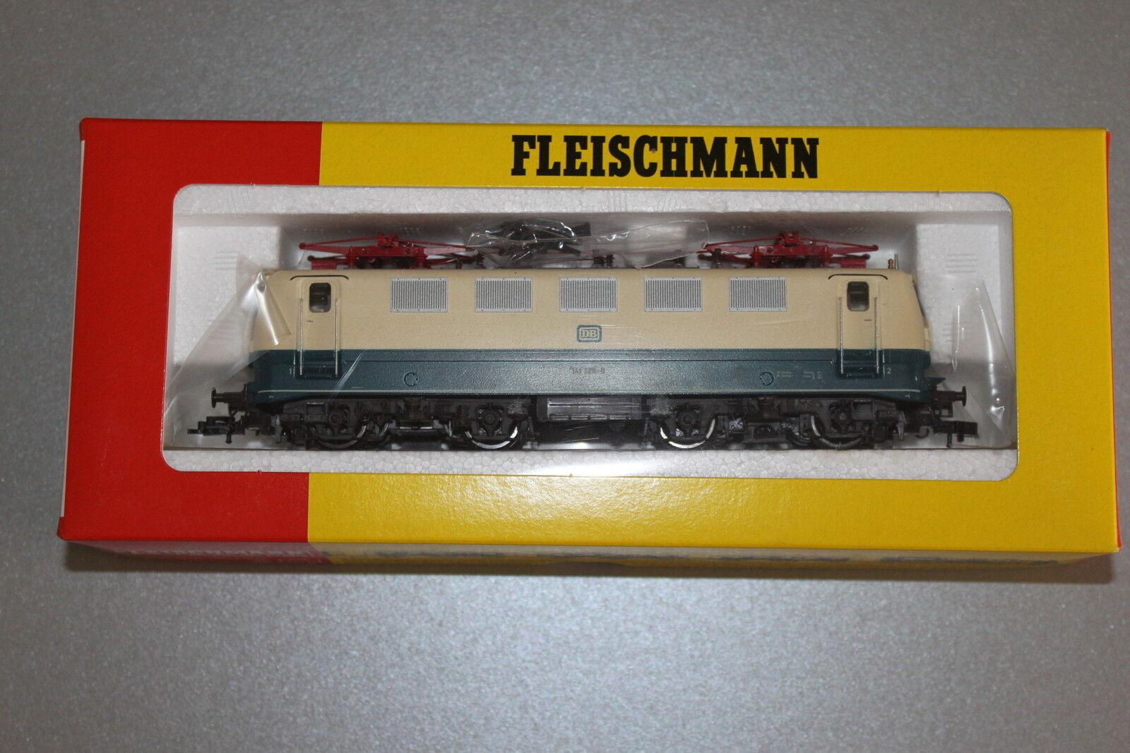 Más asequible Fleischmann 4328 elok serie 141 128-9 DB azul beige pista pista pista h0 OVP  apresurado a ver