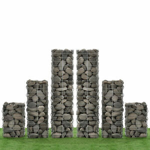 Neuhaus-gabionen-6ER-SET-115-75-45cm-gabion-Gabions-Mauer-Mur-colonne