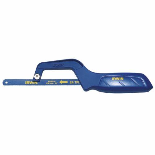 Irwin Mini Metallsäge 250 mm Handsäge Sägeblatt mit ergonomischen Griff 10504408