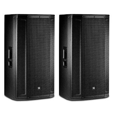 "JBL SRX835P 15"" 3-Way ACTIVE Powered DJ PA Speaker System PAIR"