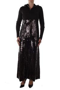 Diesel-Black-Gold-Dosmadera-Dress-Damen-Kleid-Maxikleid-Schwarz