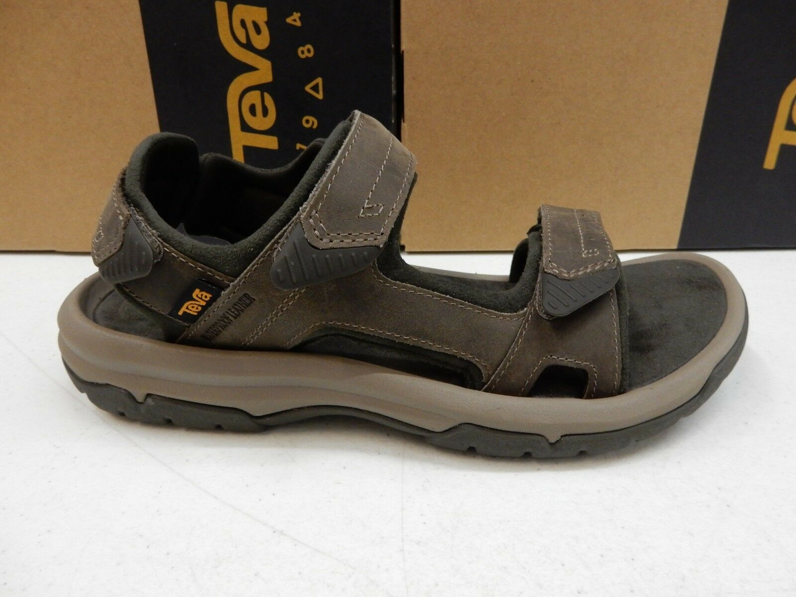 TEVA MENS SANDALS LANGDON SANDAL WALNUT SIZE 11