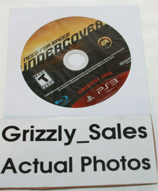 USED Need for Speed: Undercover- Sony PlayStation 3 (NTSC) (Disc Only)
