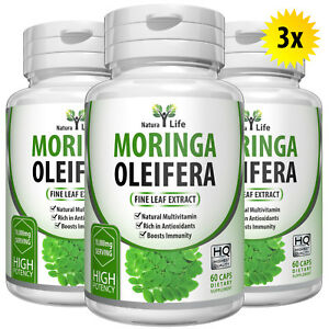 180-Organic-Moringa-Capsules-5000mg-Per-Capsule-Strong-Leaf-Pure-Extract-Powder