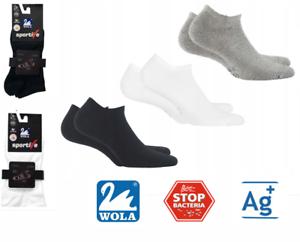 SILBER ION JON medizinische antibakteriell Schwarz//Weiß//Grau 3er Pack SOCKEN AG