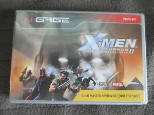 ULTRA-RARE-N-Gage-X-MEN-Legends-II-Gold-Master-Review-Case-and-sleeve