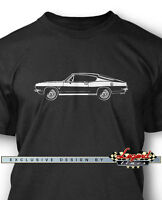 1968 Plymouth Barracuda Fastback Men T-shirt - Multiple Colors & Sizes