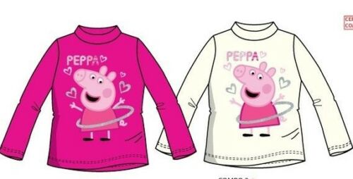 "Enfants filles /""peppa pig/"" à manches longues tops"