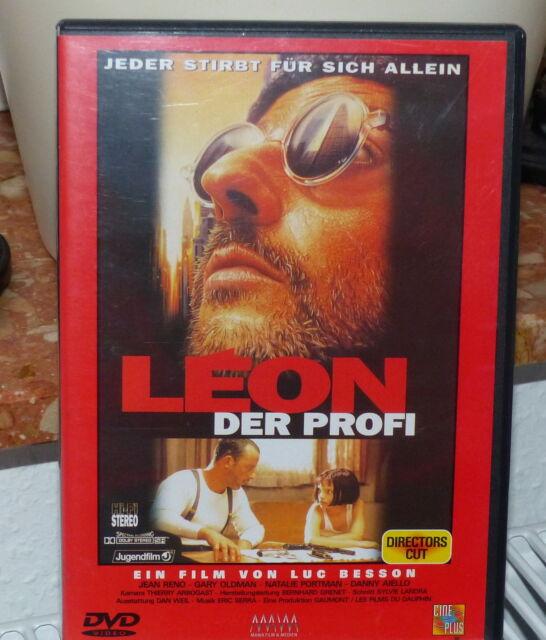 Léon - Der Profi -Director's Cut -  mit Jean Reno !! Wie Nagelneu !!