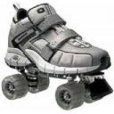 Taglia 5 Giovanile Skechers 4 Ruote Pattini a Rotelle Pattini Quad Derby per bambini | eBay