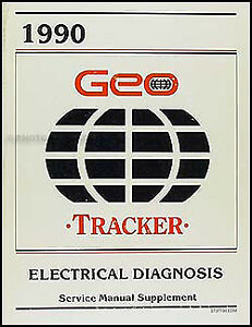 1990 Geo Tracker Wiring Diagrams Electrical Diagnosis Service Manual