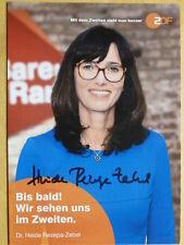"""Dr. Heide Rezepa-Zabel, ZDF Karte """"Bares für Rares"""""""