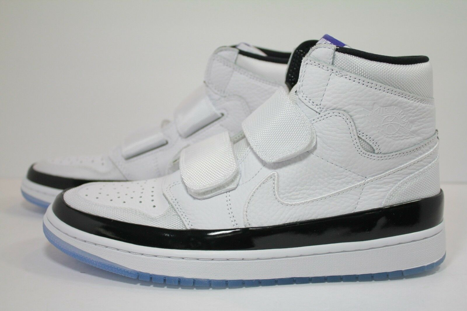 AIR JORDAN 1 RE HI DOUBLE STRP WHITE DARK CONCORD-BLACK AQ7924-107