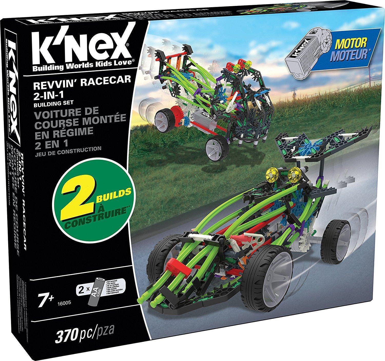 K'nex Revvin Racecar 2-in-1 Building Set 16005