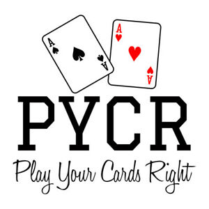 PYCR.COM Play Your Cards Right! Premium Brandable 4 Letter LLLL.com Domain Name