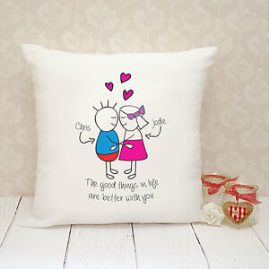 1634fcc7f66c6 Image is loading Personalised-Cushion-Cover-Present-Gift-Boyfriend -Girlfriend