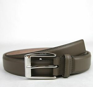 13338af9646 NEW Authentic GUCCI Mens Leather Belt with Classic Square Buckle ...