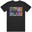 New Jojo/'s Bizarre Adventure Character Anime Manga Black T-Shirt Size S to 2XL