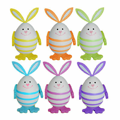 Great Arts and Crafts 4 Pack Bobbly Bunny Picks Easter Decorations
