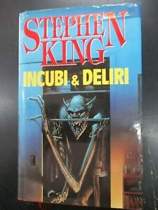 STEPHEN KING - INCUBI & DELIRI - ED. EUROCLUB 1995
