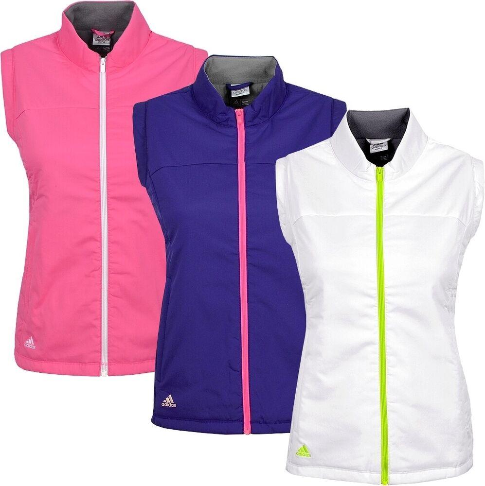 Adidas Chaud Fleece Vest Femmes Bodywarmer Sport Ski Veste Matelassée Veste D'hiver