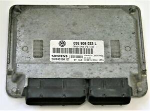 VW-Polo-1-2-12V-AZQ-Motorsteuergeraet-Modul-ECU-03E-906-033-L-5WP40194-05