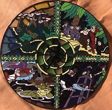 Disney Peter Pan Neverland Jumbo Stained Glass Fantasy Pin